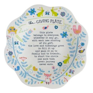 Wildlife Giving Plate