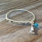 I Love Hilton Head Say It Bracelet