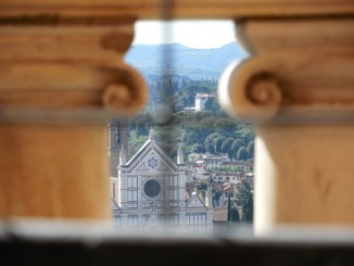 View from the Duomo Cupola toward Santa Croce