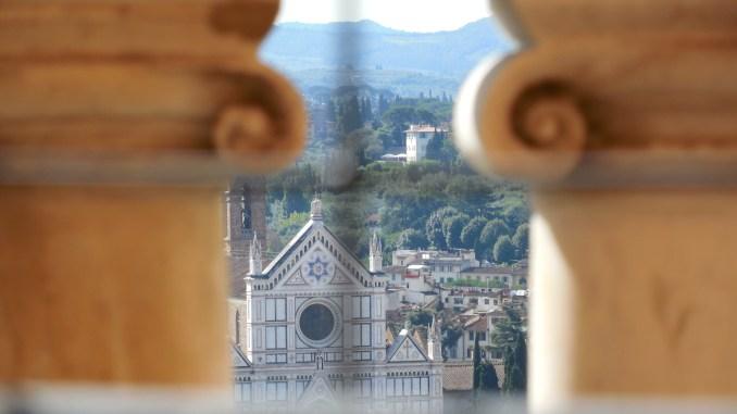 View from the Duomo Cupola toward Santa Croce