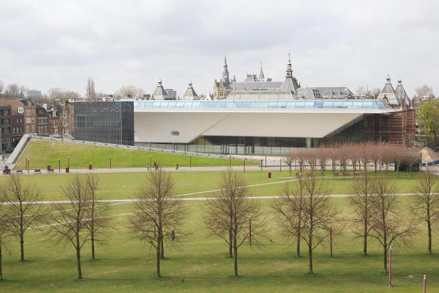 The New Stedelijk Museum in Amsterdam, by Amsterdam Marketing.