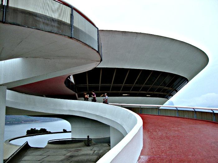 Oscar Niemeyer's MAC in Niteroi