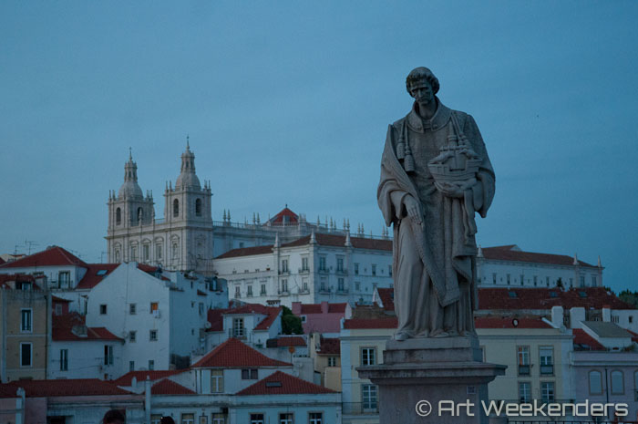 A view over Lisbon from Alfama