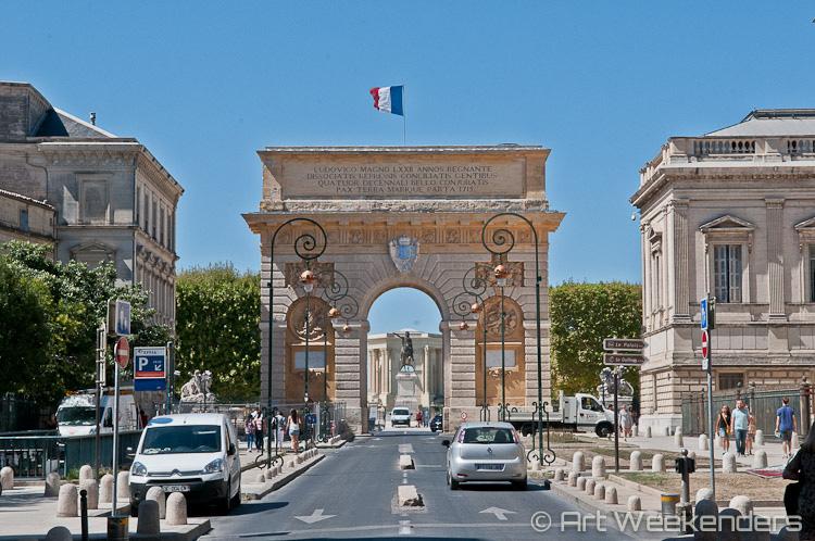 France_Montpellier_Porte_du_Peyrou