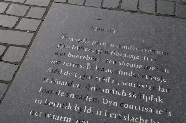 Frisian-poem