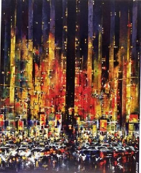 Canvas Art Lights