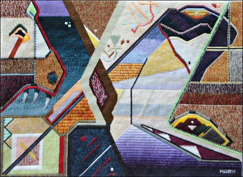 Mark Olshansky abstract art The War of the Noses