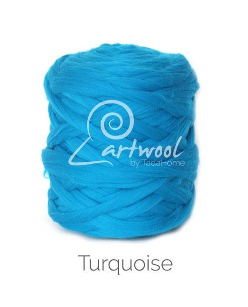 Turquoise Merino Wool