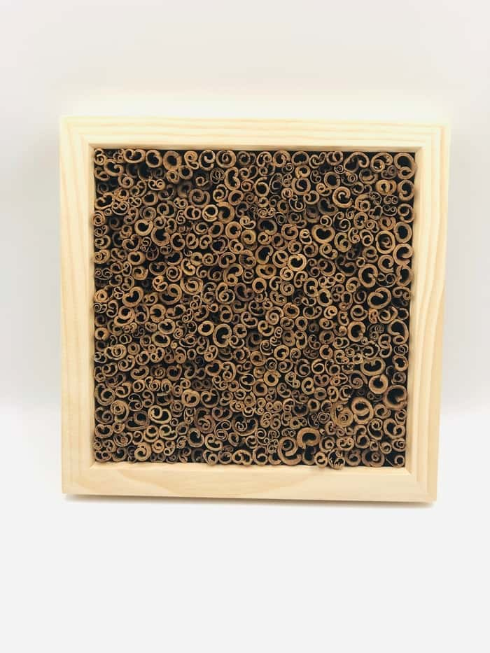 Wall Frame Picture Decoration Real Cinnamon - Natural Wood Frame