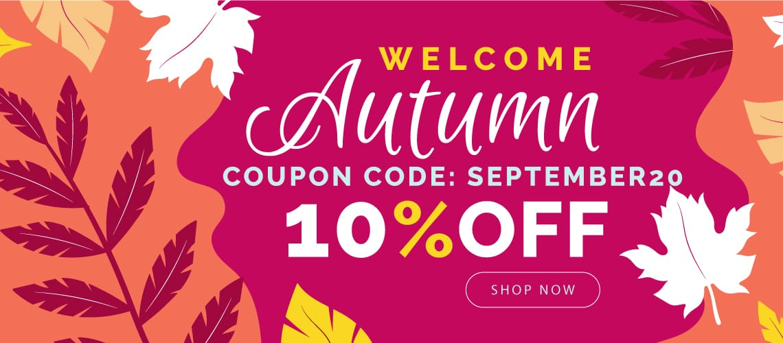 September 10% OFF on All Orders