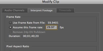 GoPro Premiere Pro CS5 Settings   Artwork Not Available