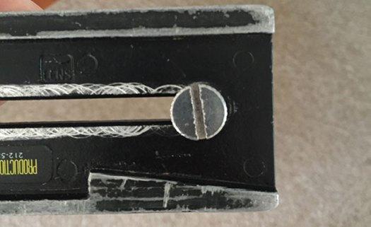 "1/4""-20 baseplate screw on camera base plate"