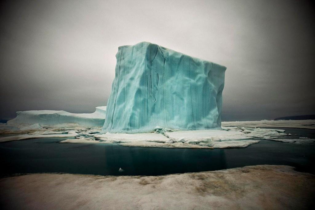 Image of iceberg in Greenland by Sebastian Copeland