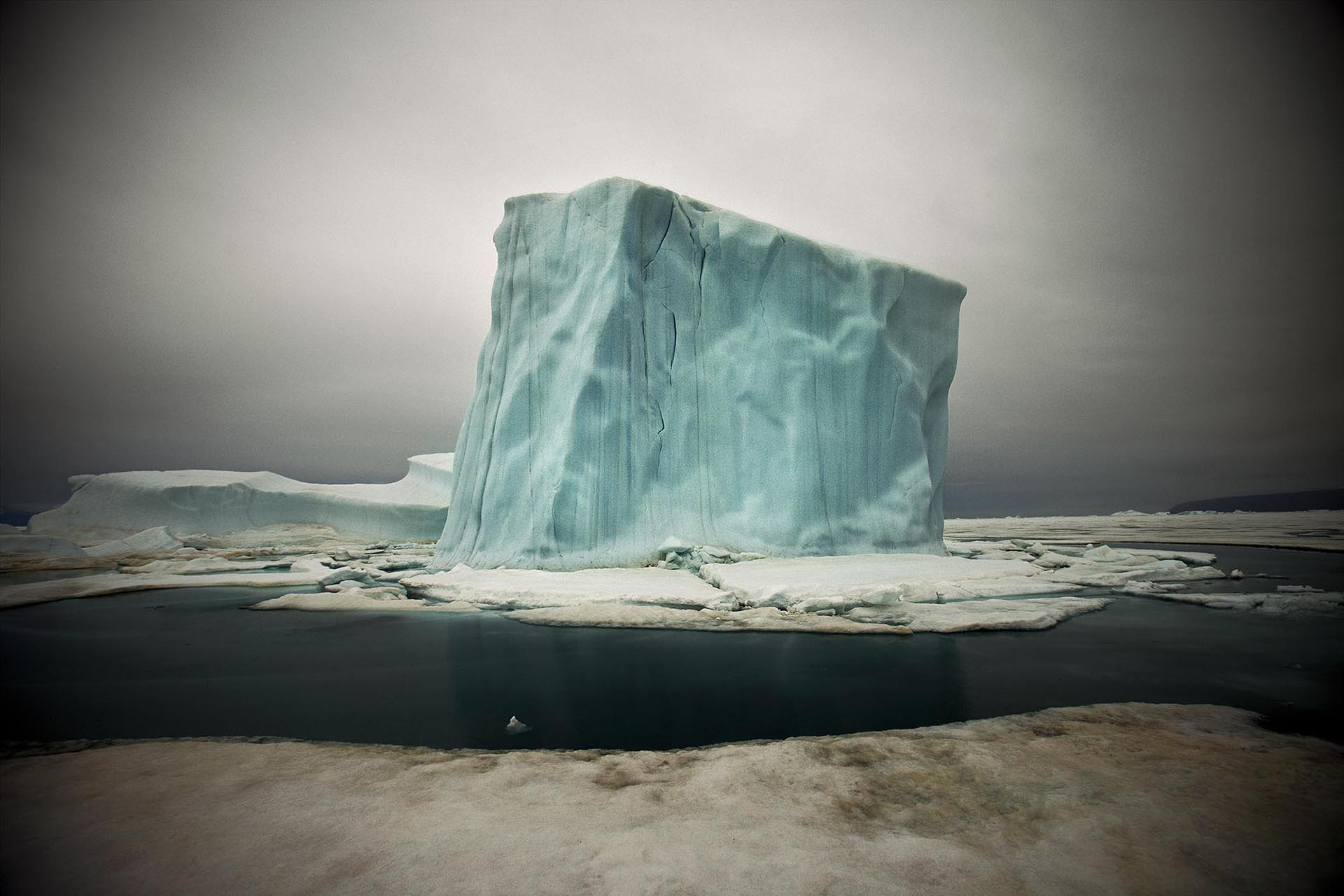 Image of iceberg in Greenland by Sebastian Copeland
