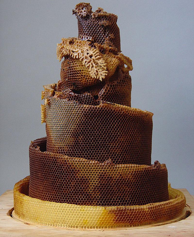 sculptural bee hive