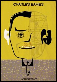 Federico Babina - Archi Portrait - Charles Eames