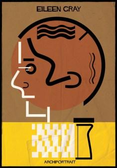 Federico Babina - Archi Portrait - Eileen Gray