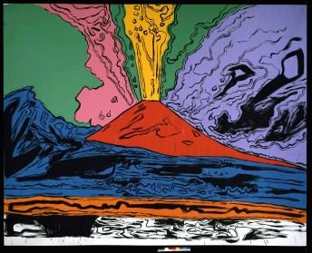 Andy Warhol - Vesuvius (1985)