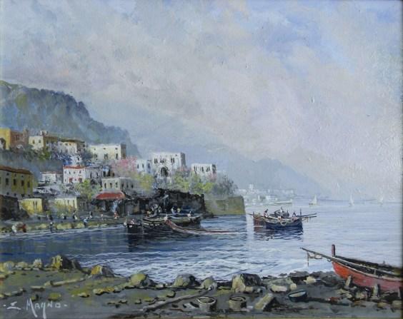 Eugenio Magno - Scena marina