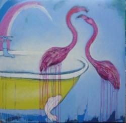 Nikky Morgan Smith - Rainbow Flamingo