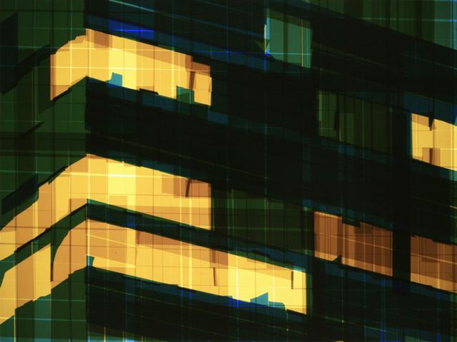 Mark Khaisman - Tape Noir Glimpse_47, 2012