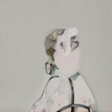 Guglielmo Castelli - BUON COMPLEANNO olio su tela 30x30cm 2014