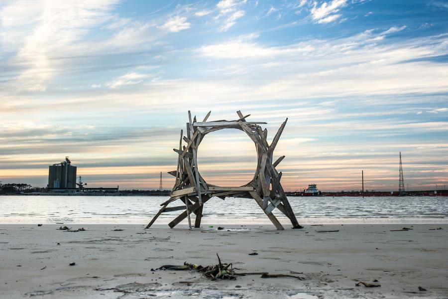 debris wood art - Jeremy Underwood