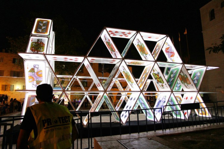Oge Creative Group - House of cards, Jerusalem