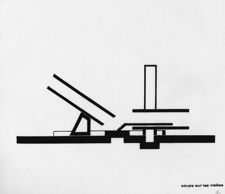 Claude Parent - Drawing