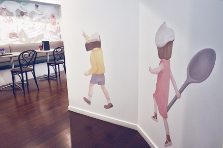 Mural Illustration for Zokoko (Sydney) - Hsiao-Ron Cheng
