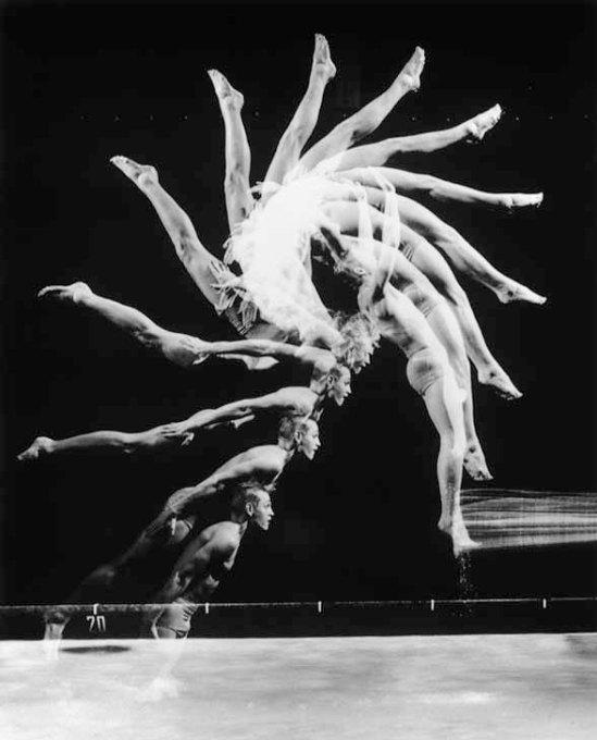"Dive indietro, 1954 - Harold Eugene ""Doc"" Edgerton"