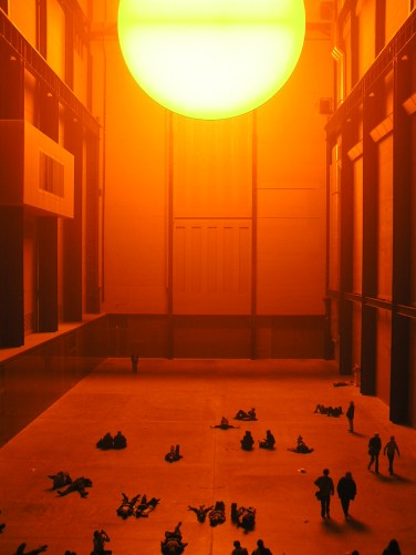 The weather project - Olafur Eliasson