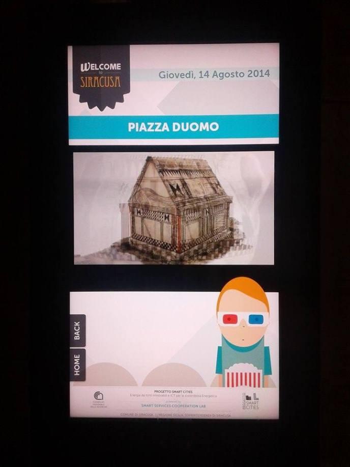 Totem - 3D Piazza Duomo