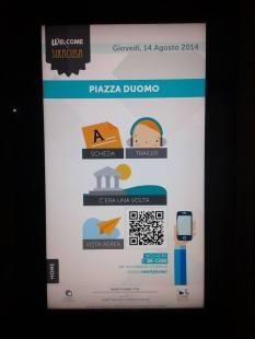 Totem - Piazza Duomo