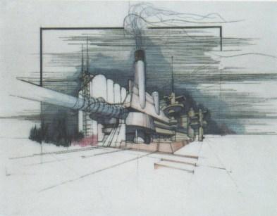 La casa del portuale 1968-'80, Aldo Loris Rossi. Collezione privata