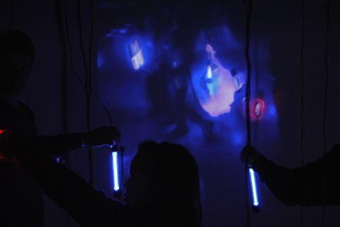 Martin Romeo - Peep - Videoinstallazione interattiva, 2011 - NeuroArt