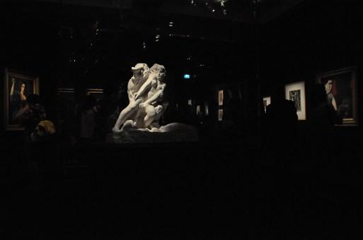Rodin - Minotaure, modello in gesso, 1886