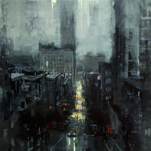 The City Tempest - Jeremy Mann