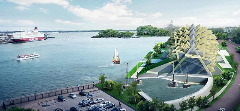Proposta di progetto alla Guggenheim Helsinki Design Competiton