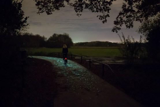 Van Gogh Bicycle Path - Daan Roosegaarde