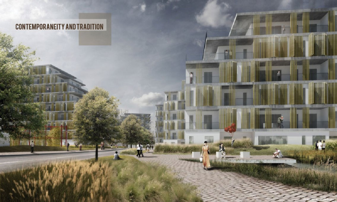 Pudong residential district © RRC STUDIO