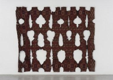 Ariel Schlesinger Untitled (burned carpet), 2014 Carpet, 450 x 250 cm Unique Collezione privata, Milano Courtesy Galleria Massimo Minini, Brescia.