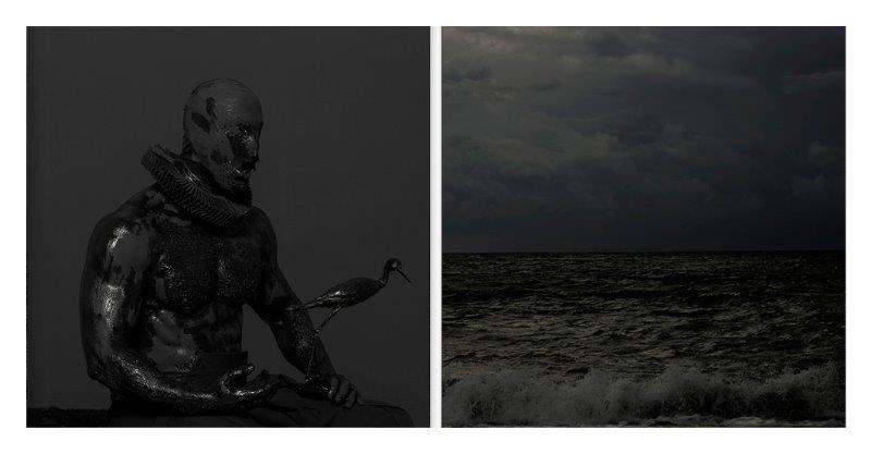 Mustafa Sabbagh, Senza titolo, stampa lamba opaca su carta fotografica, dittico cm 80x80 ciascuna, 2015