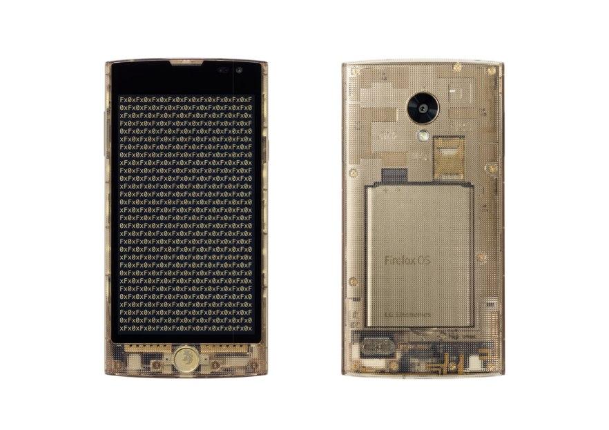 Tokujin Yoshioka, Fx0 smartphone, KDDI