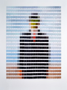"René Magritte, ""Son of Man"" / Nick Smith - Psycolourgy"