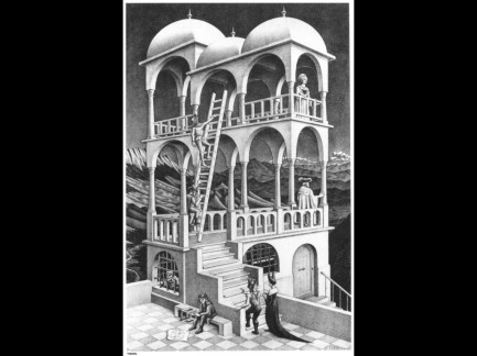 Maurits Cornelis Escher Belvedere, 1958