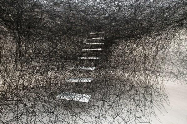 Chiharu Shiota - Stairway