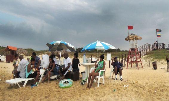 Paolo Gotti - Gruppo a Playa del este