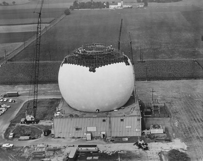 Cupola della Ballistic Missile Early Warning Station (BMEWS) a RAF Fylingdales. Ph. Real Whitby (2)