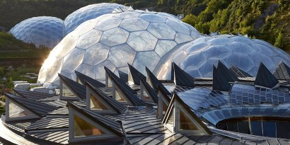 Nicholas Grimshaw and Partners, The Eden Project, 2001. Ph. Hufton Crow (1)